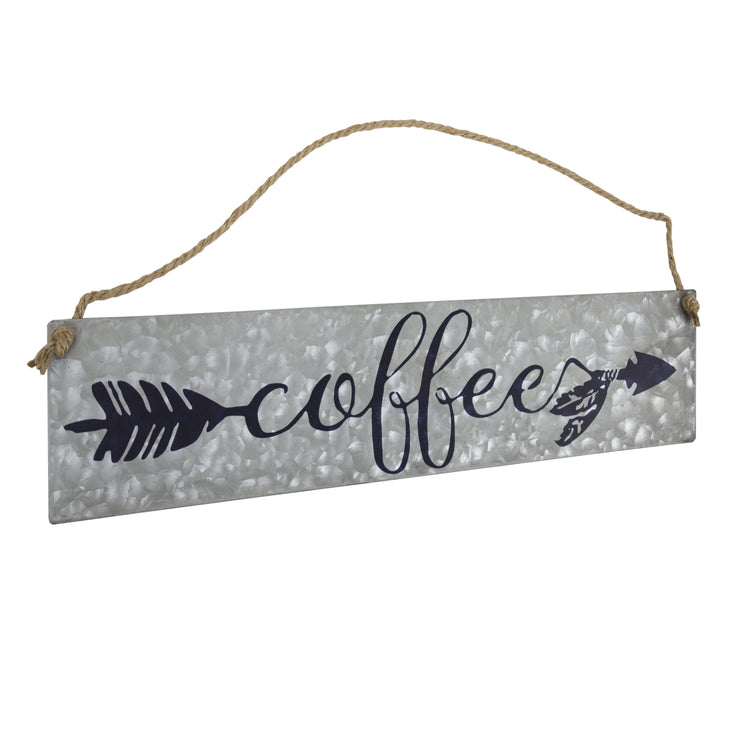 Coffee Metal Hanging Sign