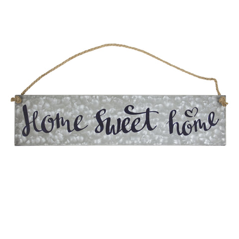 Home Sweet Home Metal Hanging Sign