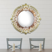 Gold Bronze Baroque Style Mirror
