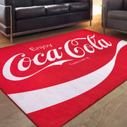 Enjoy Coca-Cola Area Rug (5'x7')