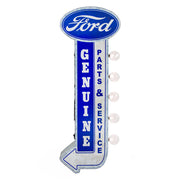 Officially Licensed Vintage Ford Parts & Services LED Marquee Sign