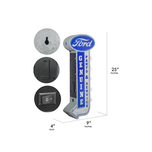 Genuine Ford Parts & Service LED Sign