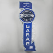 Dodge Cars & Trucks Dependable Service Garage LED Sign