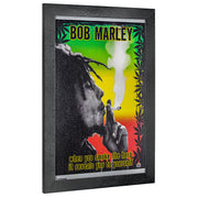 Bob Marley Smoke the Herb Framed Art