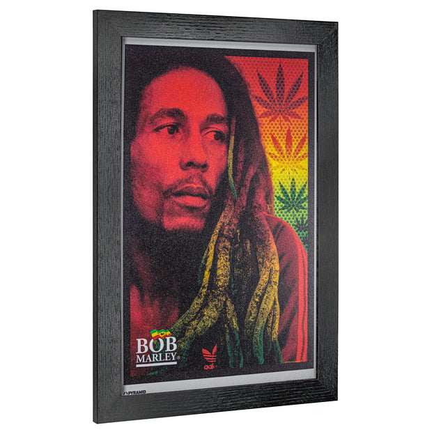 Licensed Bob Marley Rastafarian Dreadlocks Wall Art
