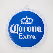 "Corona Extra Bottle Cap Metal Sign (16"")"
