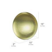 "Coronal Light Dome Metal Sign (15"")"
