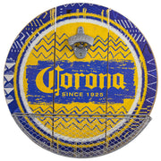 Corona Beer Bottle Opener and Cap Catcher Wall Decor