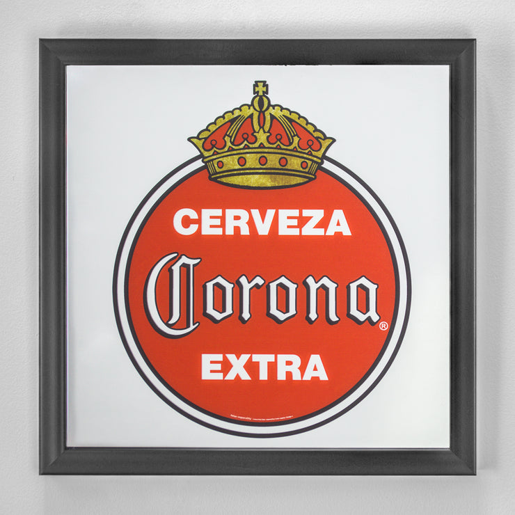 Corona Extra Printed Mirror Red