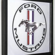 "Ford Mustang Printed Accent Mirror (13.5"" x 15.5"")"