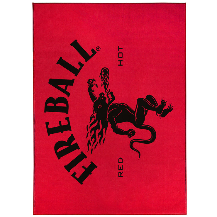 Fireball Whiskey Red Area Rug (5'x7')