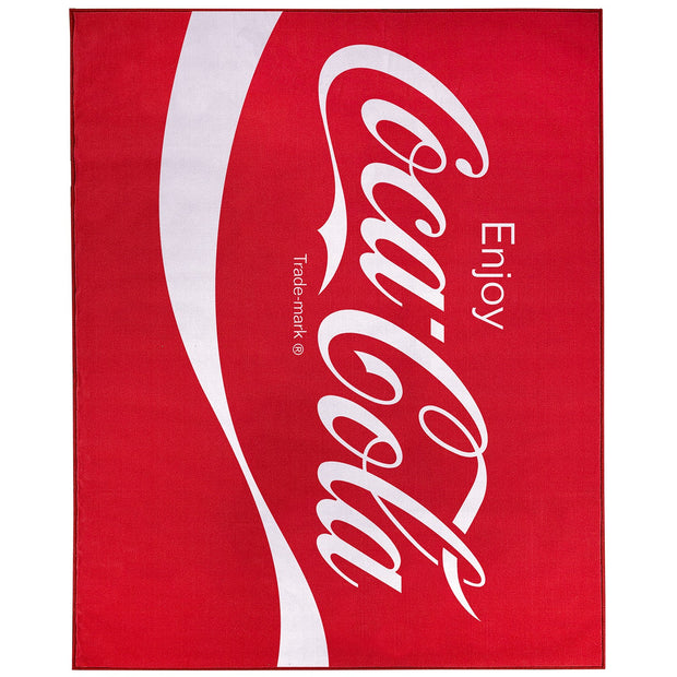 Enjoy Coca-Cola Area Rug (8'x10')