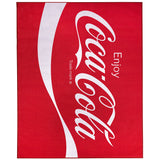 FloorDecor USA Coca-Cola Enjoy Area Rug (8'x10')