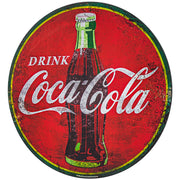 Drink Coca Cola Oversized Metal Sign