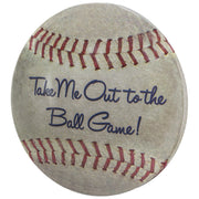 "Baseball Dome Metal Sign (15"")"