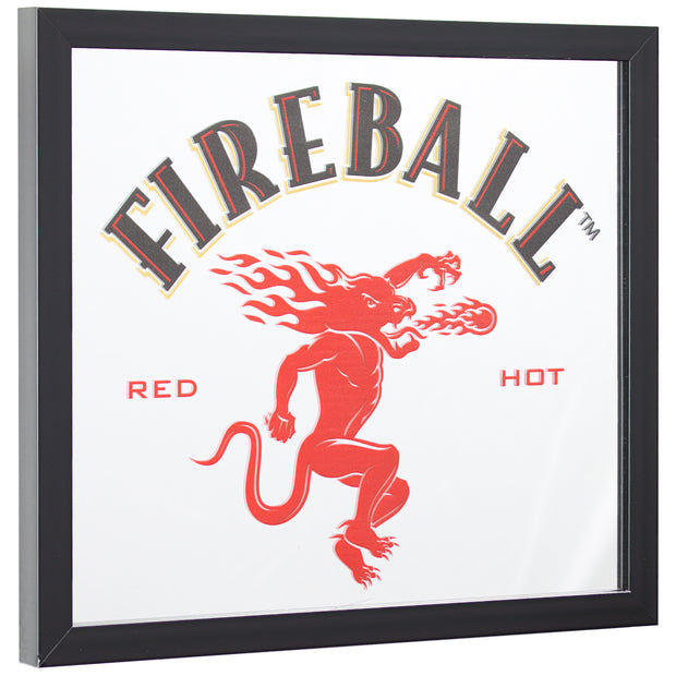 "Fireball Whisky Printed Accent Mirror (13.5"" x 15.5"")"