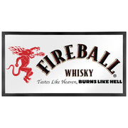 "Fireball Whisky Printed Accent Mirror (16.5"" x 31.5"")"