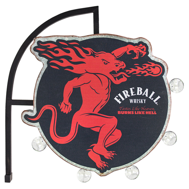 Fireball Whisky Vintage LED Marquee Sign
