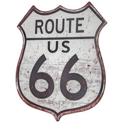 Route 66 Metal Sign