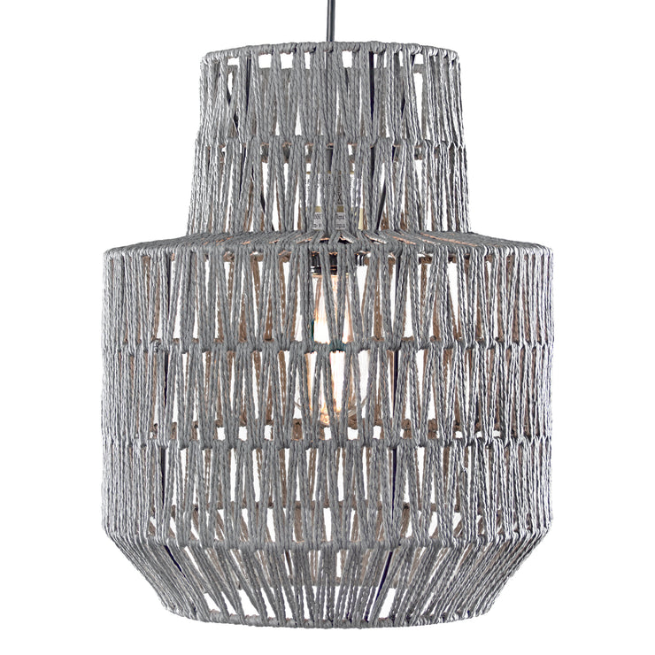 Woven Rope Hanging Pendant Lamp