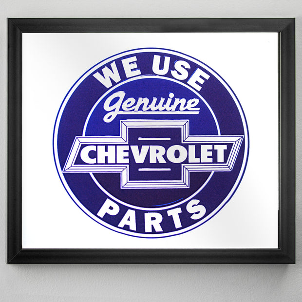 "Genuine Chevrolet Parts Printed Accent Mirror (13.5"" x 15.5"")"