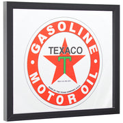 "Texaco Gasoline Printed Accent Mirror (13.5"" x 15.5"")"