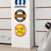 "Mopar Hemi Garage Embossed Metal Wall Decor Sign (16"")"