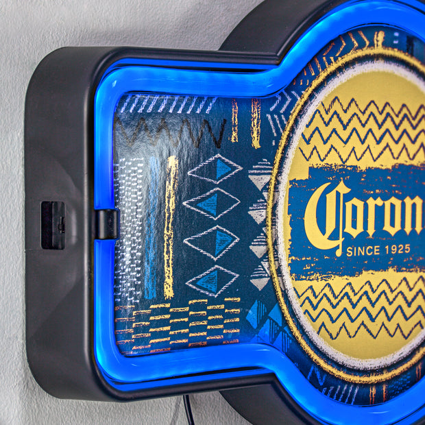 "Corona Beer LED Neon Light Sign Wall Decor (9.5"" x 17.25"")"