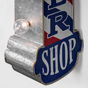 "Barber Shop Vintage LED Marquee Sign (30"" x 8"")"