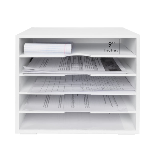 All-Purpose Document Organizer with 5 Shelves