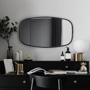 "Horizontal/Vertical Rectangle Hanging Wall Mirror (31"" x 18"")"
