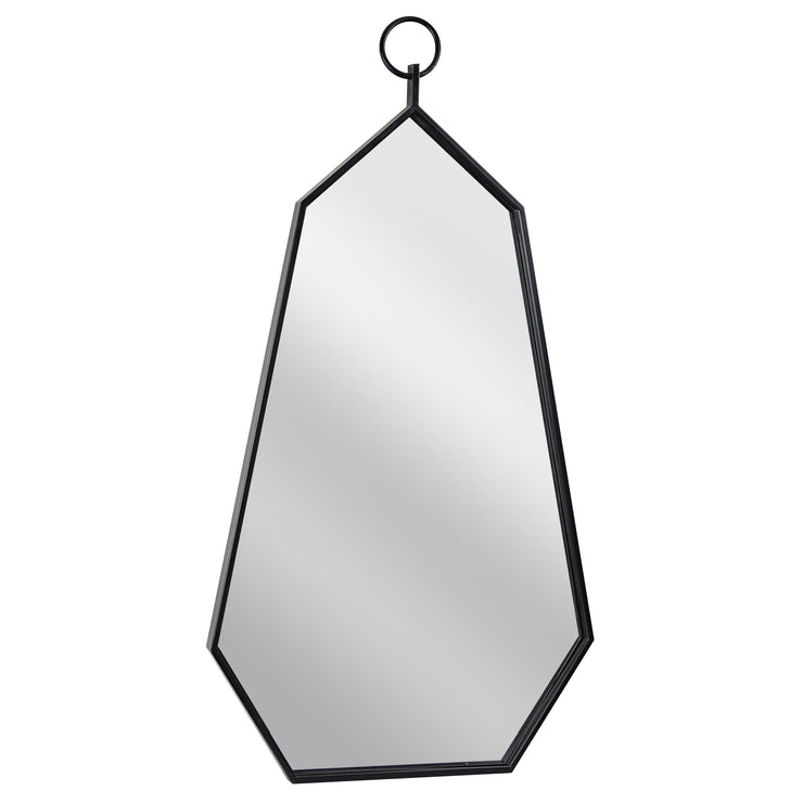 "Geometric Hanging Wall Mirror (46"" x 24"")"