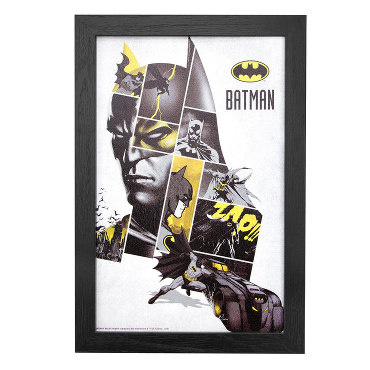 Licensed DC Comics Batman Framed Wall Art - 13x19