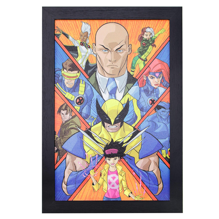 Licensed Marvel Comics X-Men Framed Wall Art - 13x19