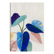 Abstract Tropical Plants Outdoor Canvas Art Print - 28x40
