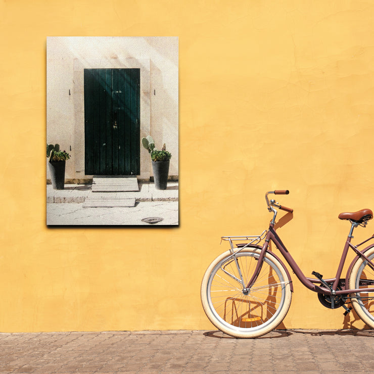 Desert Door Photo Outdoor Canvas Art Decor Print - 28x40