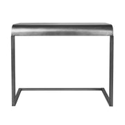Silver Portable, & Compact C-Shaped Desk
