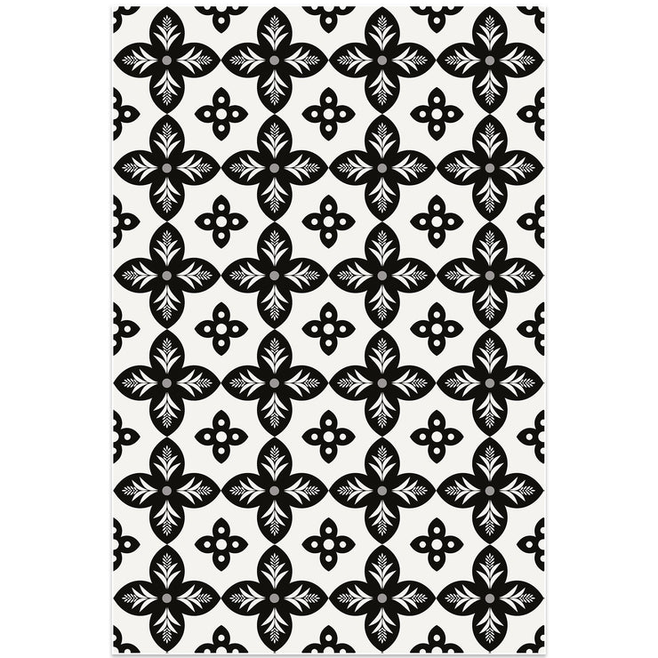 Mosaic Tile Indoor Decorative Vinyl Floor Mat - 2' x 3'