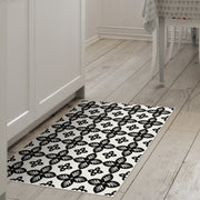 2' x 3' Indoor Decorative Vinyl Floor Mat Mosaic Tile
