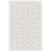2' x 3' Classic Neutral Decorative Vinyl Floor Mat - Mosaic Tile