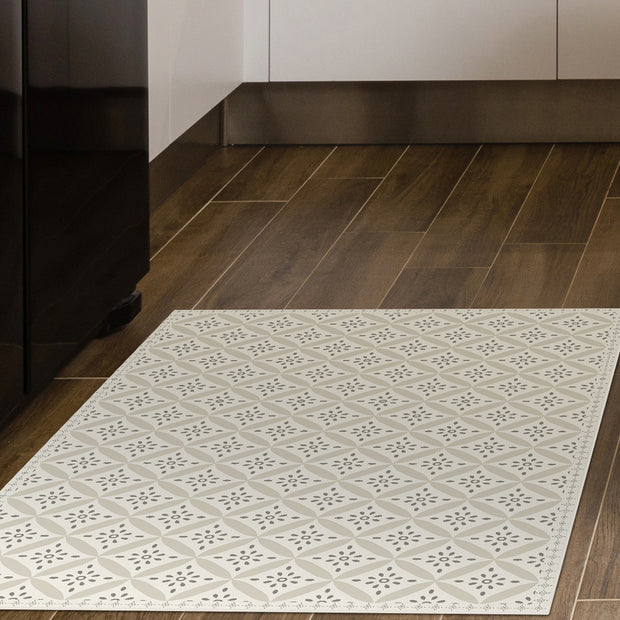 2' x 3' Decorative Vinyl Floor Mat - Mosaic Tile