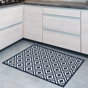 Cyclade Mosaic Tile Decorative Vinyl Floor Mat - 2' x 3'