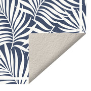 Cyclade Tropical Palm Leaf Vinyl Floor Mat - 2' x 3'