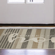 "Home ""No Place Like Home"" Vinyl Floor Mat - 2' x 3'"
