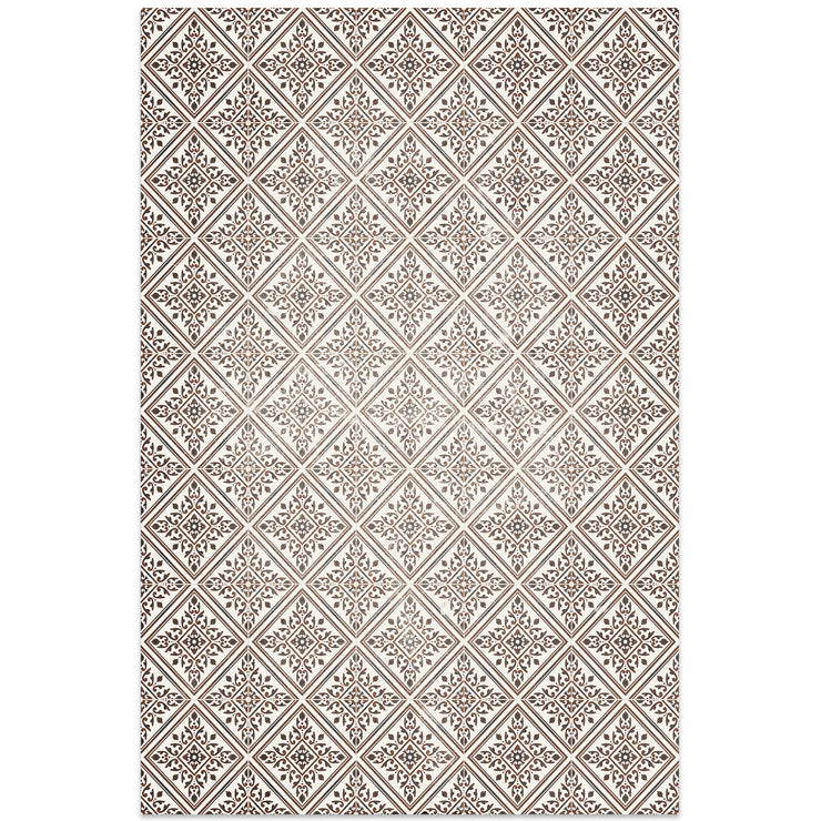 Home Mosaic Tile Decorative Vinyl Floor Mat - 2' x 3'