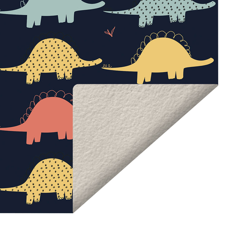 Little Dinosaurs Vinyl Floor Mat – 2' x 3'