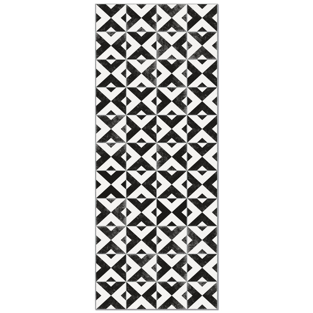 Decorative Vinyl Floor Mat Mosaic Tile - 2' x 5'