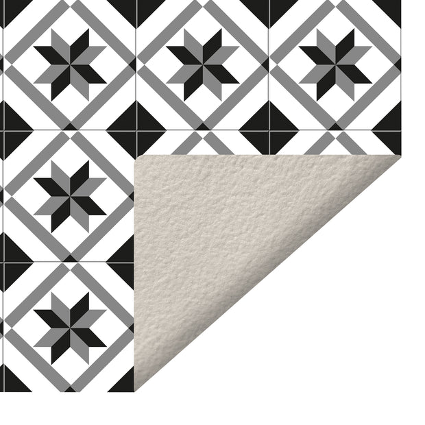 Ceramic Mosaic Tile Decorative Vinyl Floor Mat - 2' x 5'