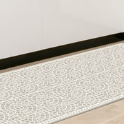 Classic Neutral Mosaic Tile Decorative Vinyl Floor Mat - 2' x 5'