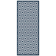 Cyclade Mosaic Tile Decorative Vinyl Floor Mat - 2' x 5'